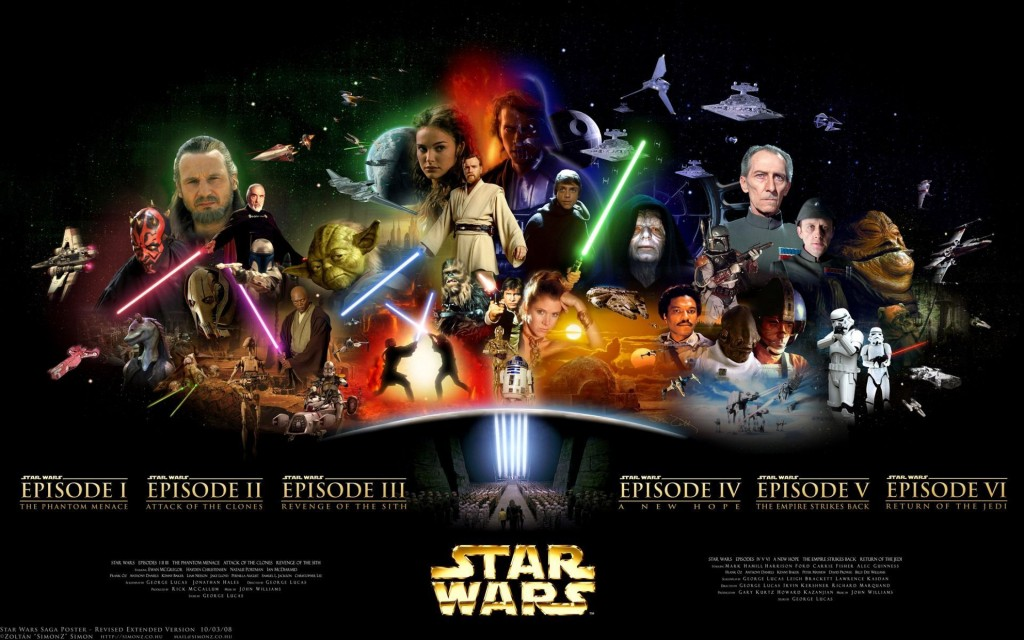 Star Wars l Gráfica Cores
